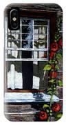 Window At Upper Canada Village IPhone Case