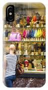 Window Shopper IPhone Case