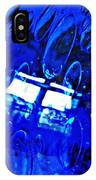 Windows Reflected On A Blue Bowl 3 IPhone Case