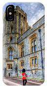 Windsor Castle And Coldstream Guard IPhone Case