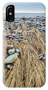 Windswept Grass At Lawrencetown Beach, Nova Scotia IPhone Case