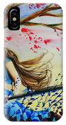 Windy Kiss IPhone Case