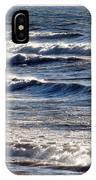 Windy Spring Lake Huron IPhone Case