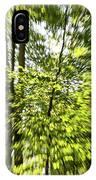 Windy Trees IPhone Case