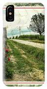 Wine And Roses. Brandini Winery IPhone Case