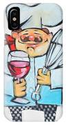 Wine And Wisk Chef IPhone Case
