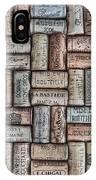 Wine Corks IPhone Case