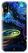 Wine Galaxy IPhone Case