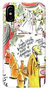 Wine Snobs In Cana - Mmwsc IPhone Case
