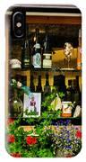Wine Window IPhone Case