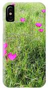 Winecup Flowers IPhone Case
