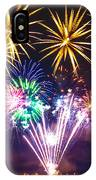 Wing Dam Fireworks  IPhone Case