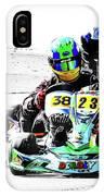 Wingham Go Karts 09 IPhone Case