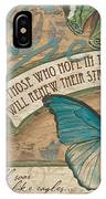 Wings Of Hope IPhone Case