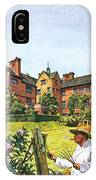 Winston Churchill Painting At Chartwell IPhone X Case