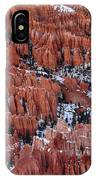 Winter Afternoon At Inspiration Point Bryce Canyon National Park  Utah IPhone Case