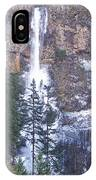 Winter At Multnomah Falls IPhone Case