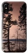 Winter At Nepaug IPhone Case
