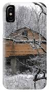 Winter Barn Iv IPhone Case