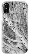Icy Winter Birch Tree  IPhone Case