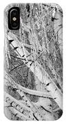 Icy Winter Birch Tree  IPhone Case