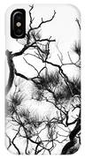Winter... Black And White IPhone Case