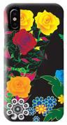Winter Bouquet IPhone Case