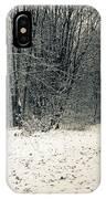 Winter Bridleway IPhone Case