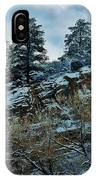 Winter Cliff IPhone Case
