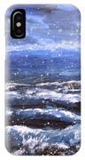 Winter Coastal Storm IPhone Case