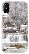 Winter Day At The Mill  IPhone Case