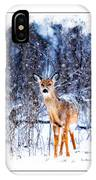Winter Deer 1 IPhone Case