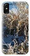 Winter Grass IPhone Case