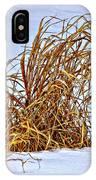 Winter Grasses IPhone Case