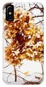 Winter Hydrangea IPhone Case