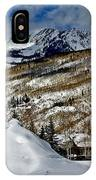 Winter In East Vail IPhone Case