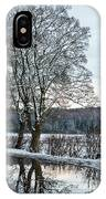Winter In England, Uk IPhone Case