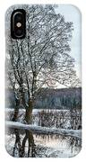 Winter In England, Uk IPhone Case