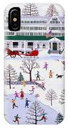 Winter In Jackson New Hampshire IPhone Case