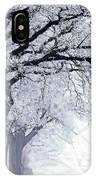 Winter In Our Street IPhone Case