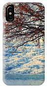 Winter In Peachland IPhone Case