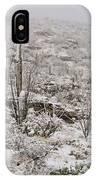 Winter In The Desert IPhone Case