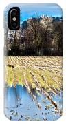 Winter In Washington Fields IPhone Case