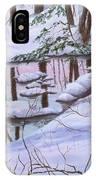 Winter Landscape IPhone X Case