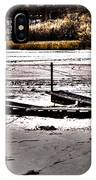 Winter On The Bay IPhone Case