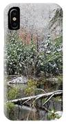 Winter On The Beaver Pond IPhone Case