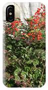 Winter Red Berries IPhone Case
