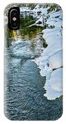 Winter River Reflections - Yellowstone IPhone Case