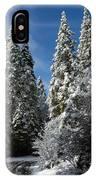 Winter Road IPhone Case