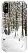 Winter Scene Print IPhone Case
